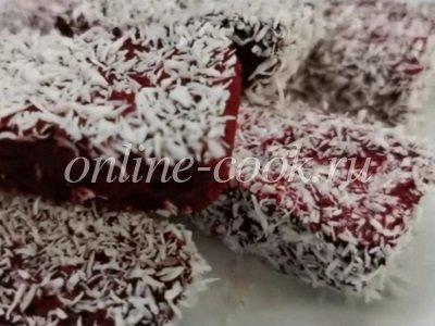 Фото рецепта-Рецепт Ягодные конфеты, вкусняшка к чаю! Кето конфеты суфле, рецепт без сахара от Хлебстори 2020