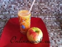Сок морковно-яблочный натуральный