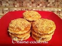 Бисквитно-апельсиновые пирожные