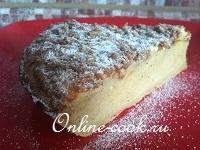 Лимонный пирог с трюфельной крошкой