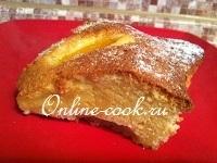 Персиковый пирог (пирог с консерв. персиками)