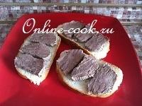 Полезные бутерброды с отварной говядиной