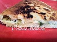 Сырные пирожки с прованскими травами (на сковородке)