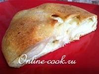 Сырный мини-пирог с сыром сулугуни