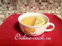 Зеленый имбирный чай (для здоровья)