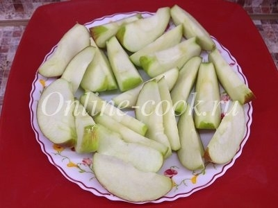 Яблоки на ужин