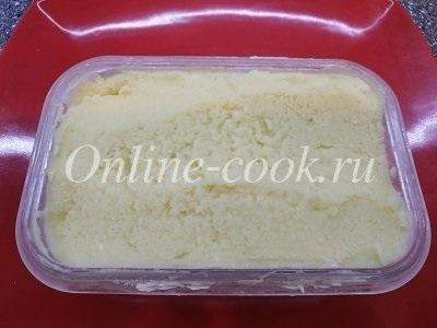 Аппетитное ананасовое мороженое