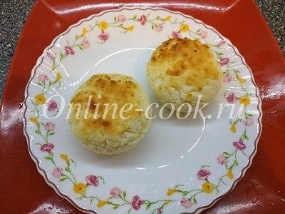Сырники 2 штуки на завтрак