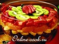 Послойный фруктовый салат